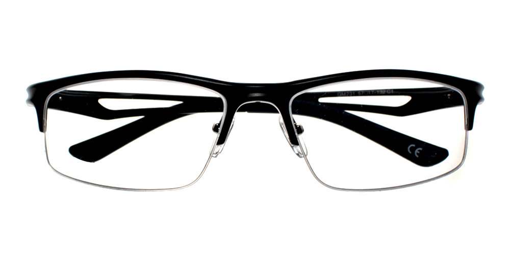 Valencia Eyeglasses Black