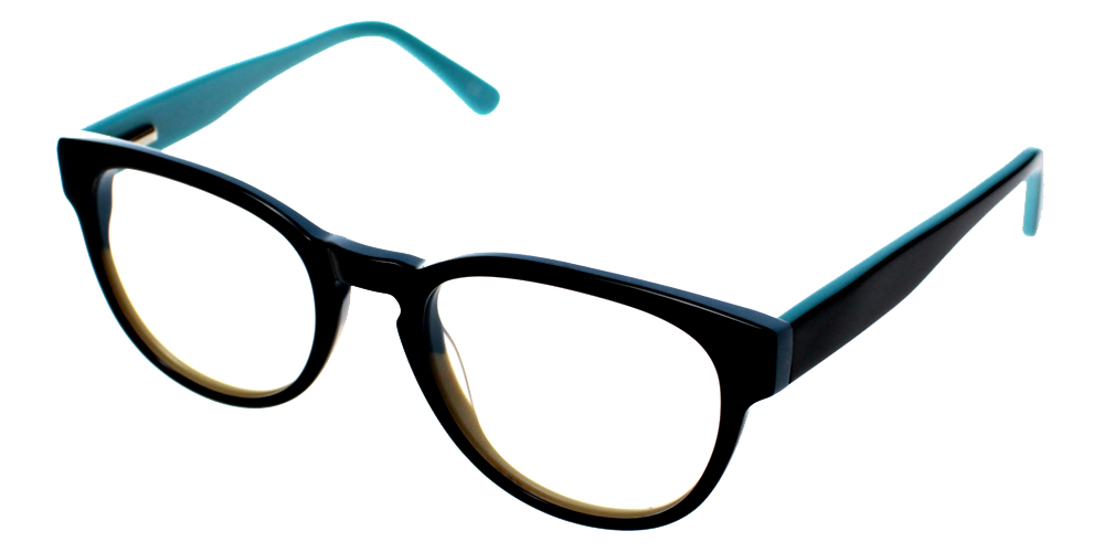 Auberry Eyeglasses Black-Blue