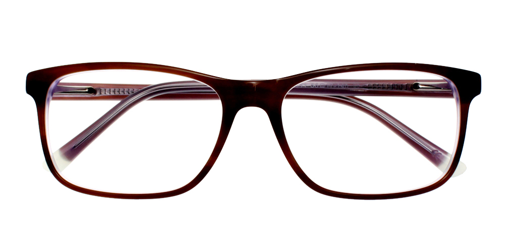 Alhambra Eyeglasses Red Demi