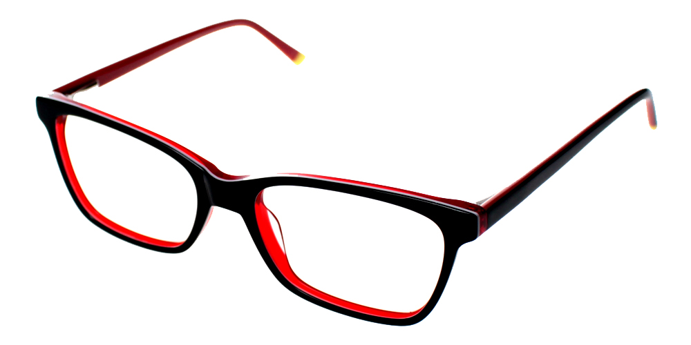 Paradise Eyeglasses BlackRed