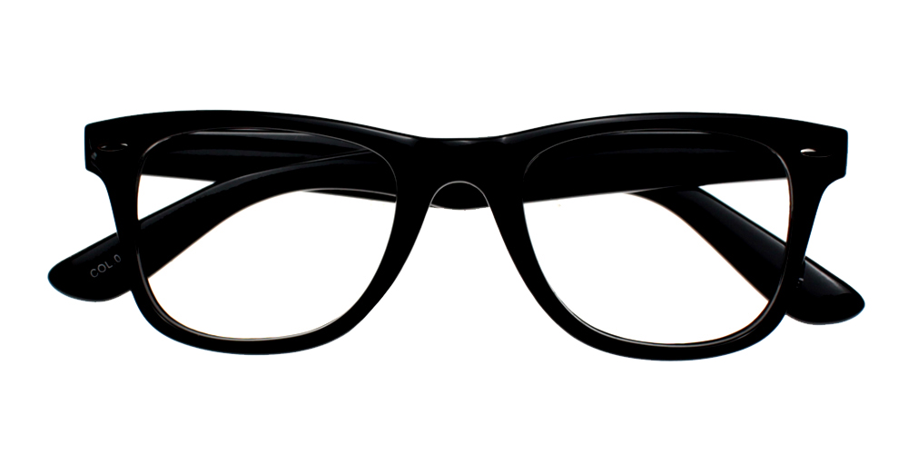 Rancho Eyeglasses Black