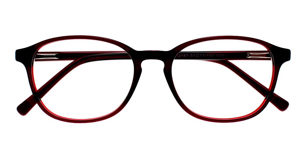 Tehachapi Eyeglasses BlackRed