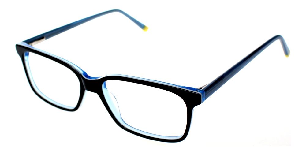 Benicia Eyeglasses BlueBlack