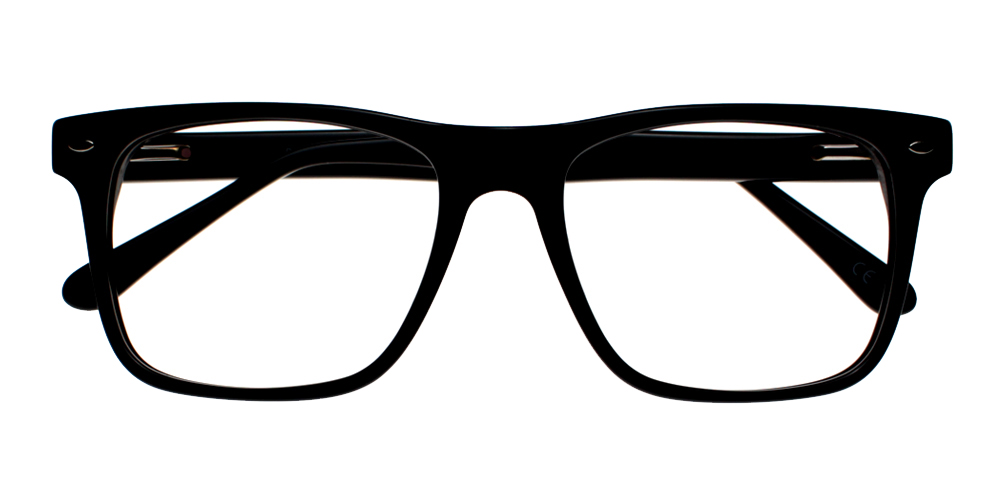 Campbell Eyeglasses Black