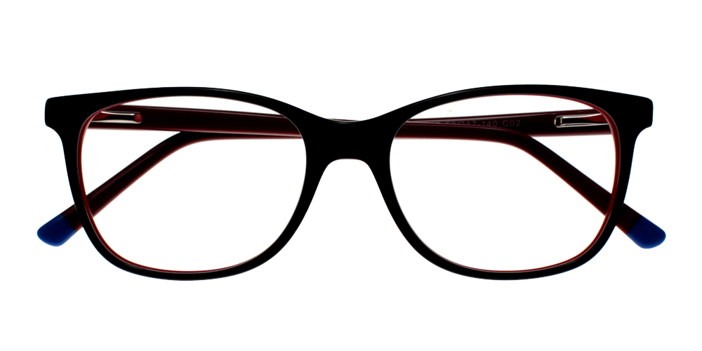 Danville Eyeglasses Red