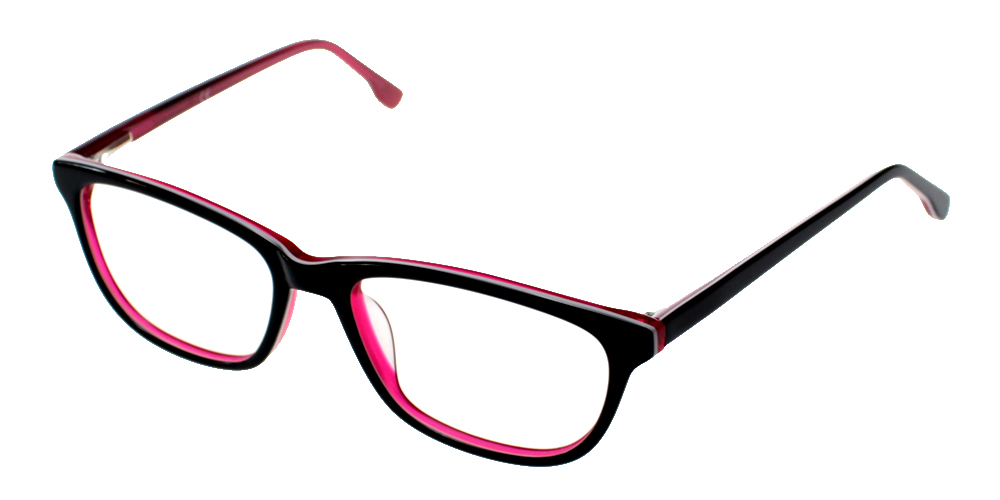Escondido Eyeglasses BlackRed