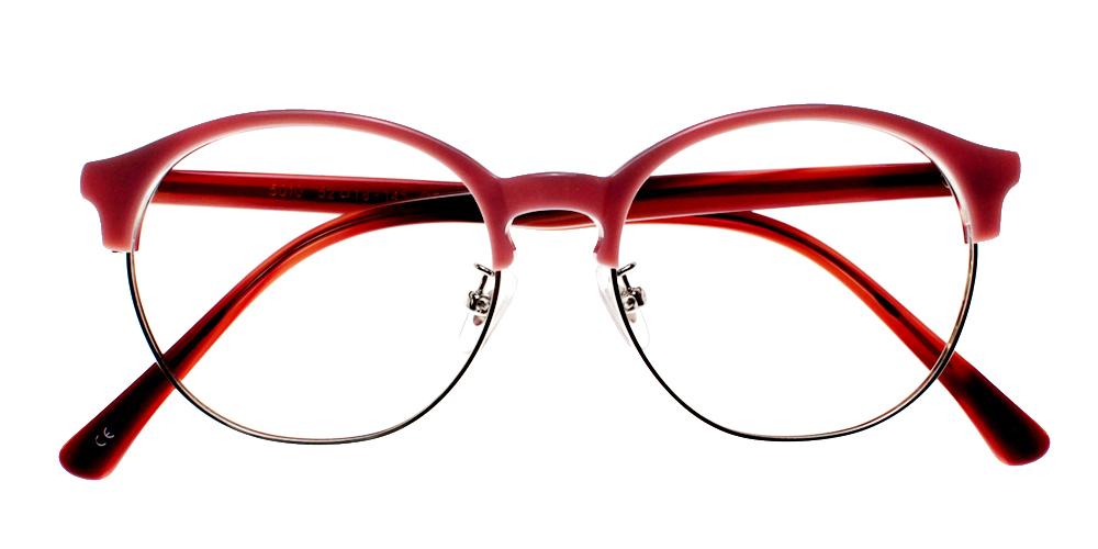 Fillmore Eyeglasses Red