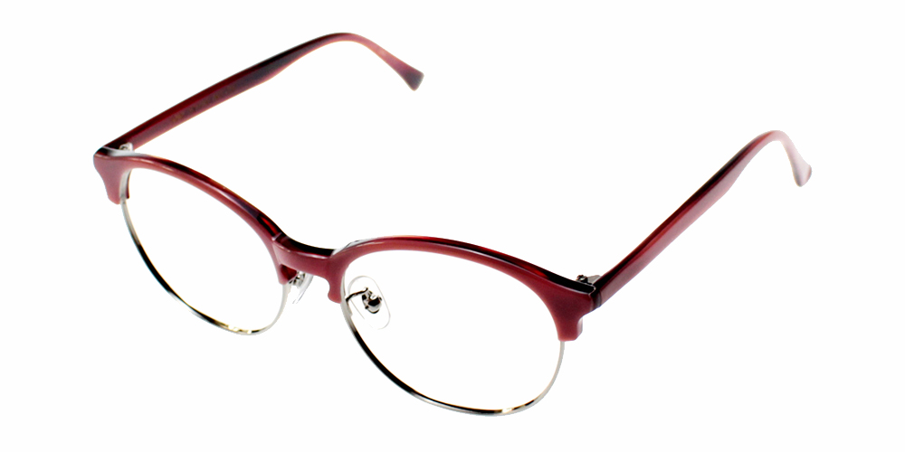 Fillmore Eyeglasses Red