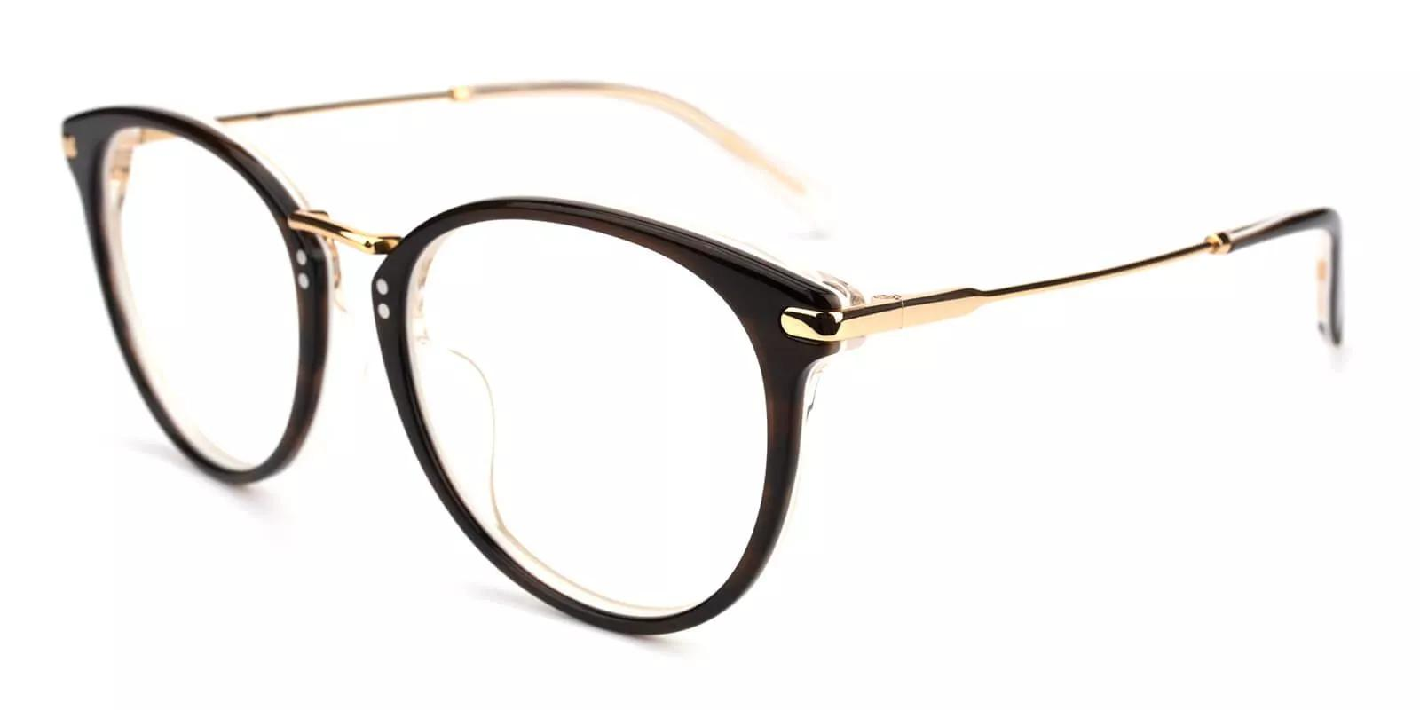 Clinton Acetate Eyeglasses Black