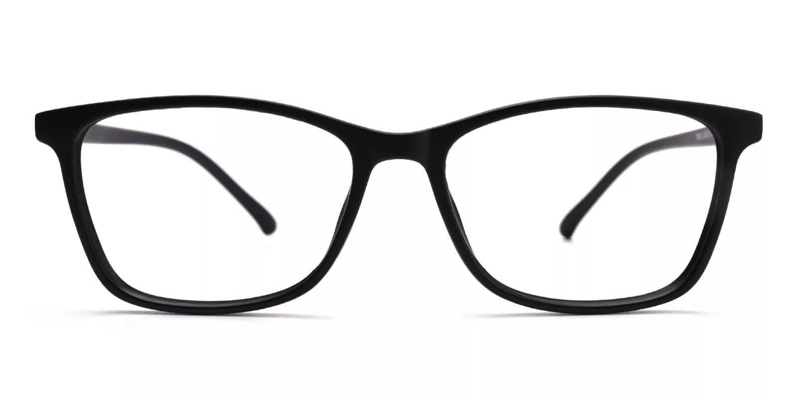 Davenport Light Weight Eyeglasses Black