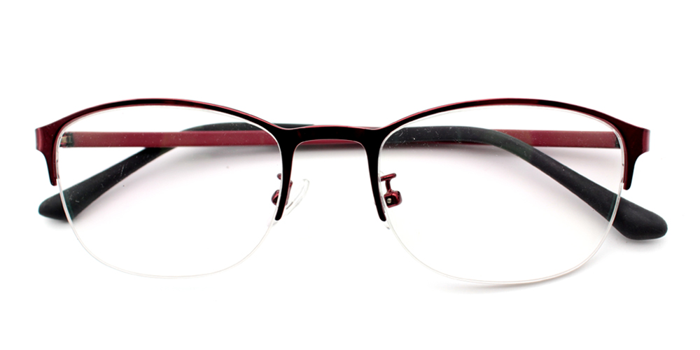 Fatoumata Eyeglasses Red
