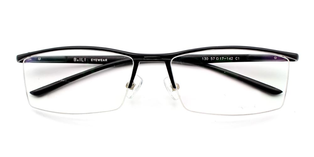 Bilal Eyeglasses Black