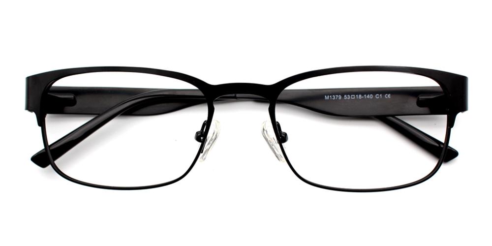 Lorenzo Eyeglasses Black