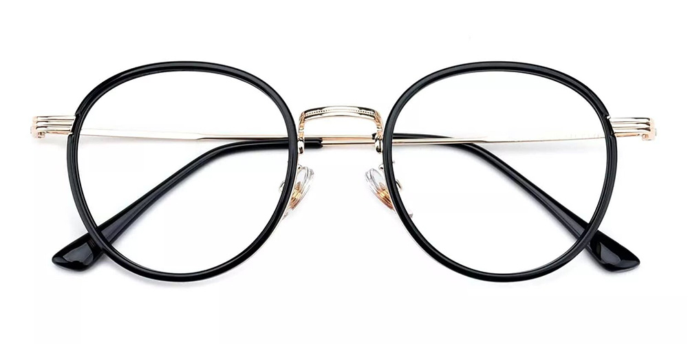 Macon Cheap Prescription Glasses Black