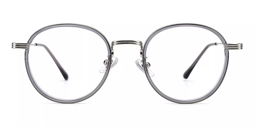 Macon Cheap Prescription Glasses Clear Grey