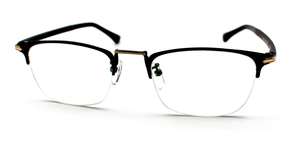 Paolo Eyeglasses Black