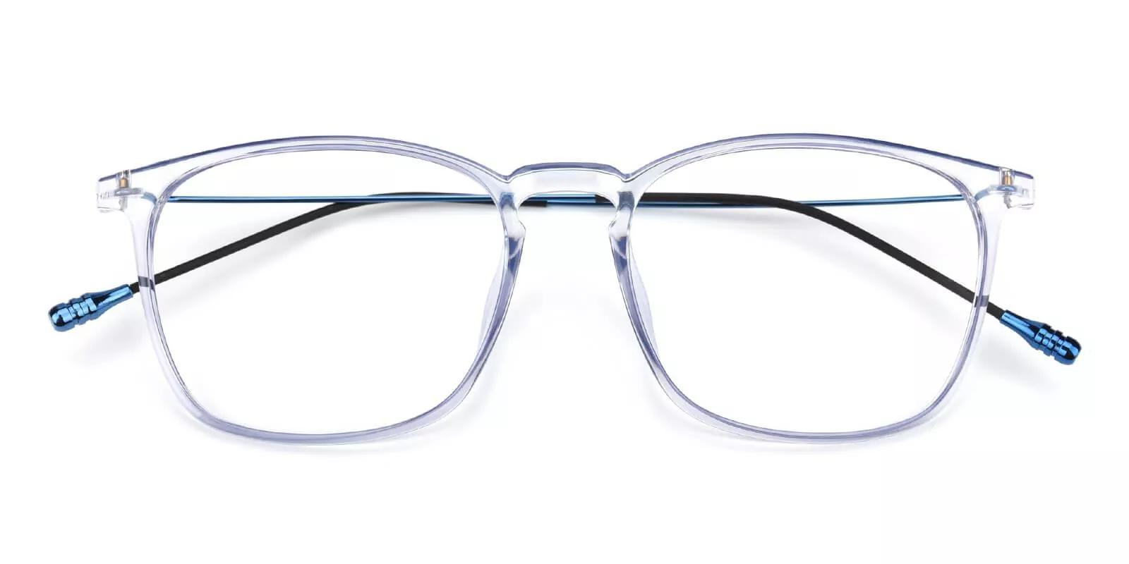 Norwalk Prescription Eyeglasses Blue Clear