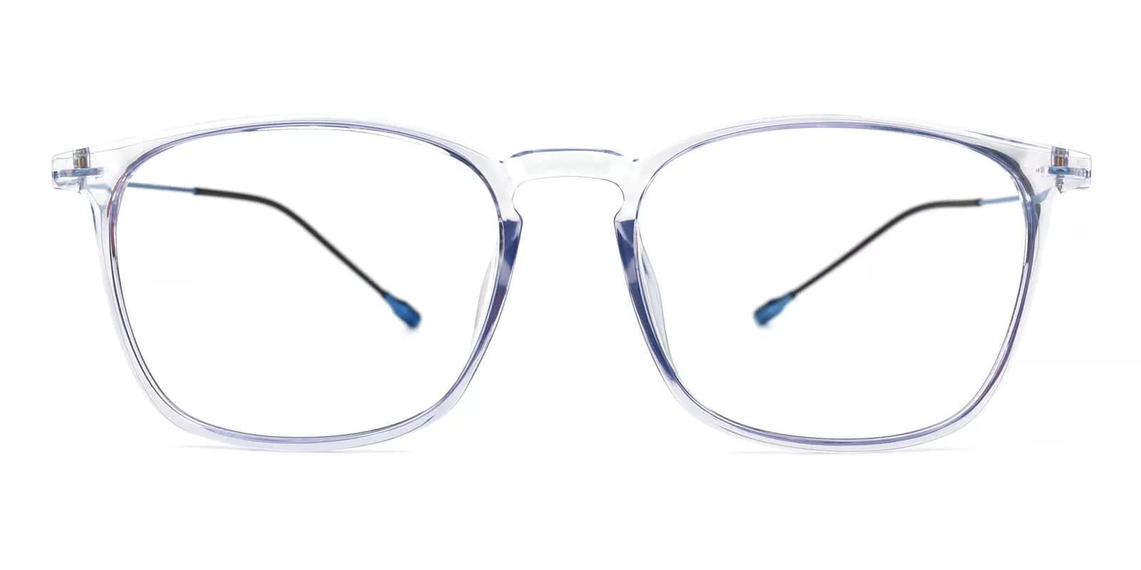 Norwalk Prescription Eyeglasses Blue Clear