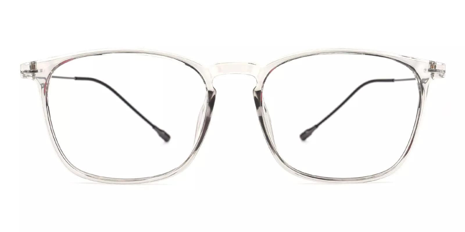 Norwalk Prescription Eyeglasses Gray Clear