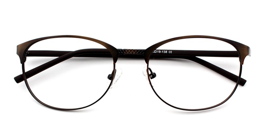 Samy Eyeglasses Brown