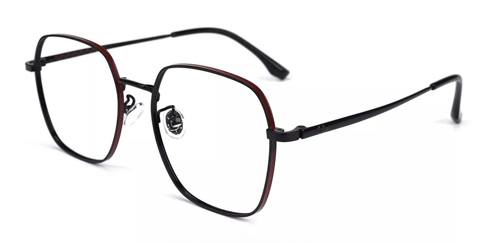 Westminster Metal Prescription Glasses Black