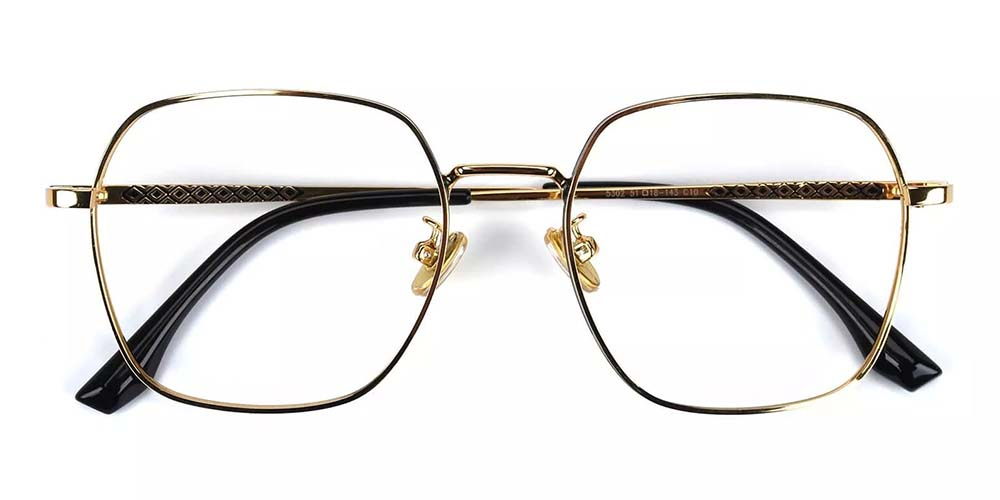 Westminster Metal Prescription Glasses Gold