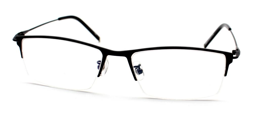 Anatole Eyeglasses Black