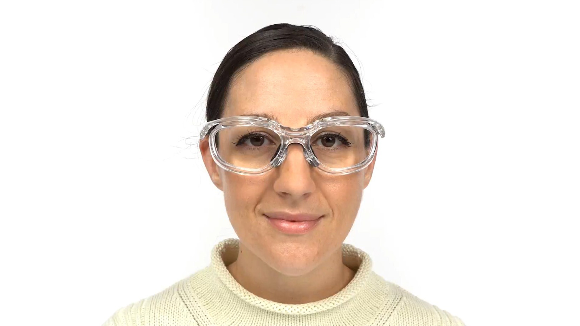 Fusion Toledo  Prescription Safety Glasses Clear - ANSI Z87.1 Certified Stamped