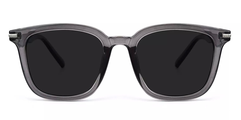 Waterbury Prescription Sunglasses Gray Clear