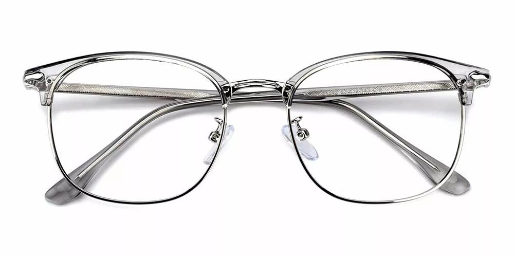 Kansas Cheap Prescription Glasses Clear Grey