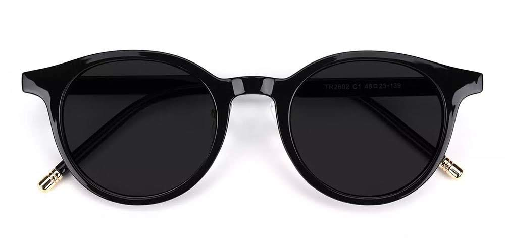 Elgin Prescription Sunglasses Black
