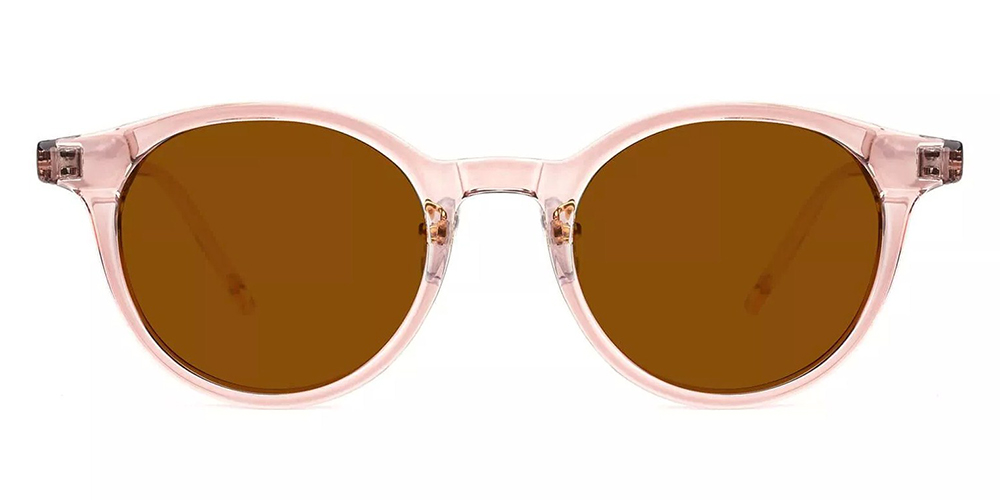 Elgin Prescription Sunglasses Clear Pink