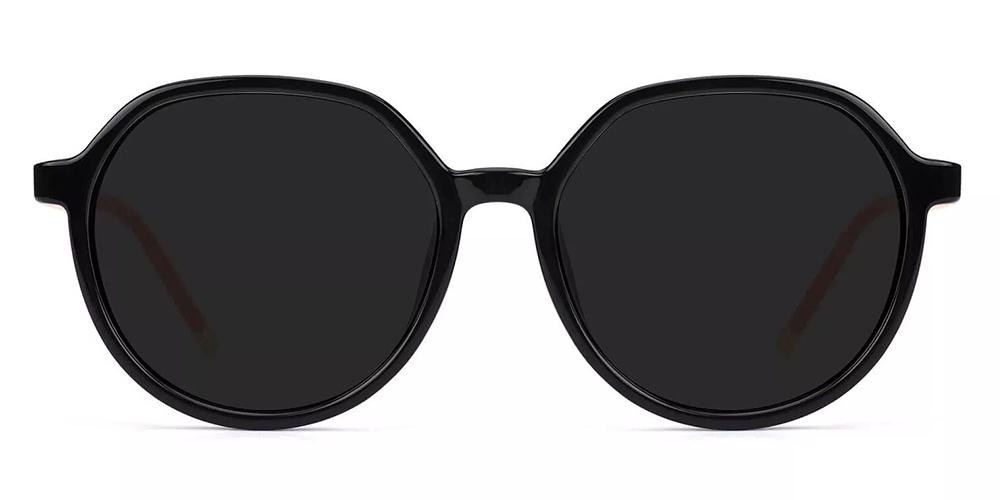 Odessa  Prescription Sunglasses Black