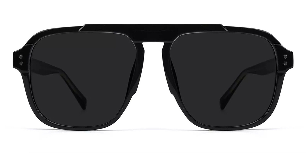 Manchester Aviator Sunglasses Black