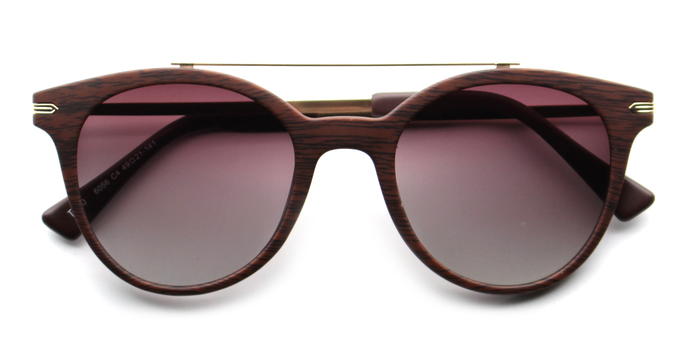 Alexandra Rx Sunglasses Brown - Bifocal Prescription Sunglasses