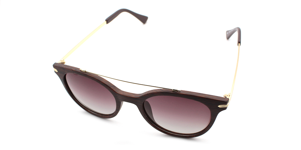 Alexandra Rx Sunglasses Brown - Prescription Sunglasses