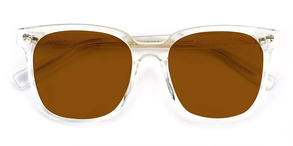 Lowell Cat Eye Rx Sunglasses Clear