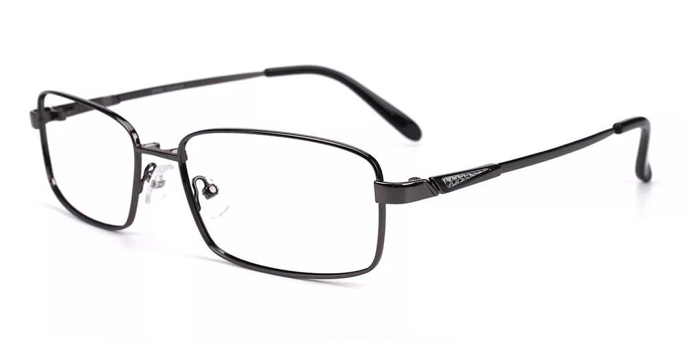 Allentown Clip On Prescription Sunglasses Gun