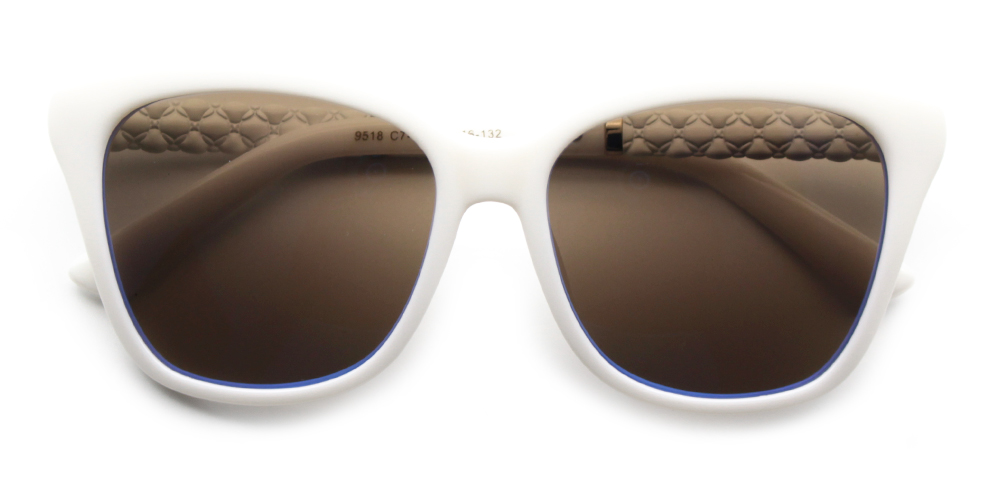 Eva Rx Sunglasses White - Prescription Sunglasses