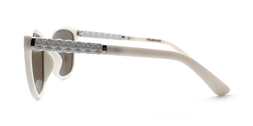 Eva Rx Sunglasses White - Men Prescription Sunglasses