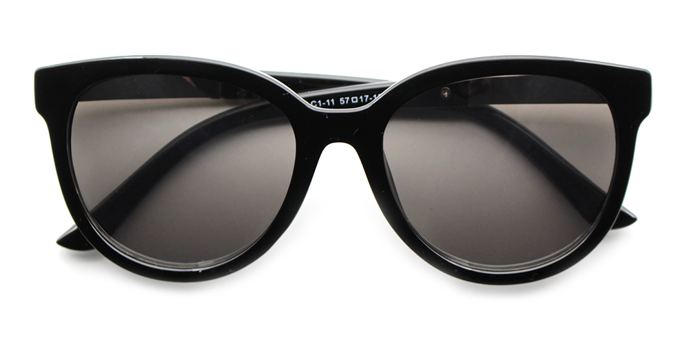Eliana Rx Sunglasses Black - Prescription Sunglasses
