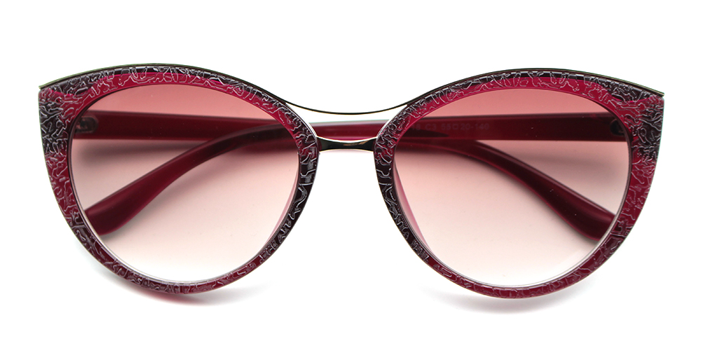 Lily Rx Sunglasses Red