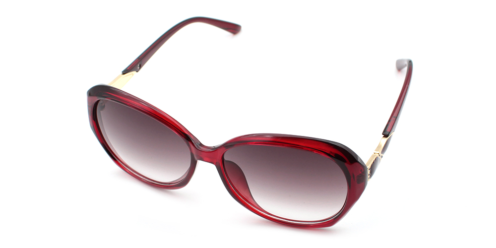 Chloe Rx Sunglasses Red - Women Prescription Sunglasses
