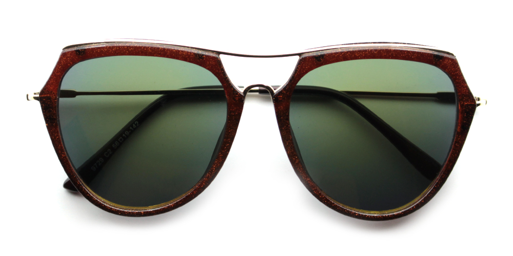 Mia Rx Sunglasses Brown - Women's Sunglasses