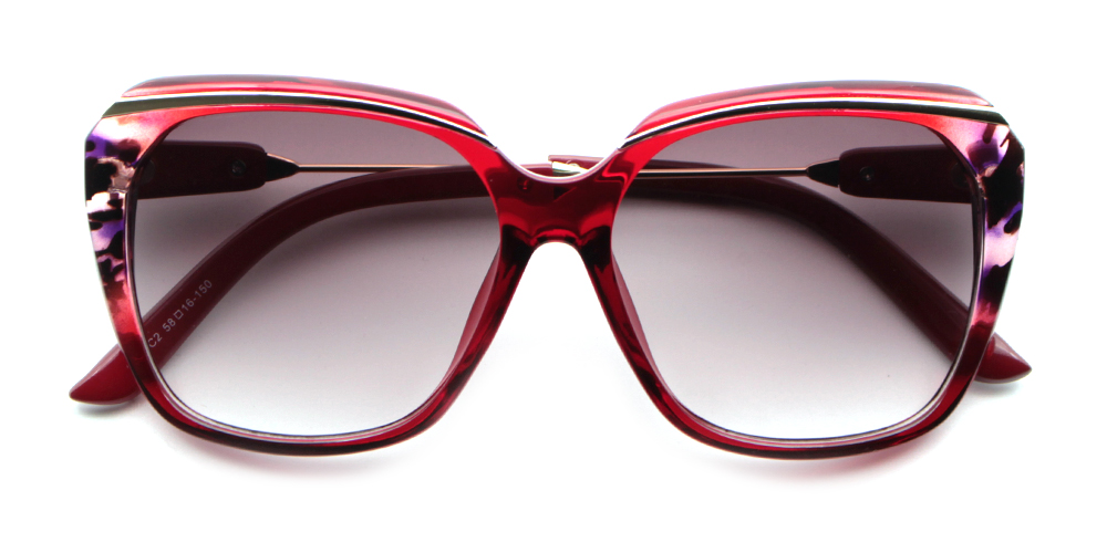 Layla Rx Sunglasses Red