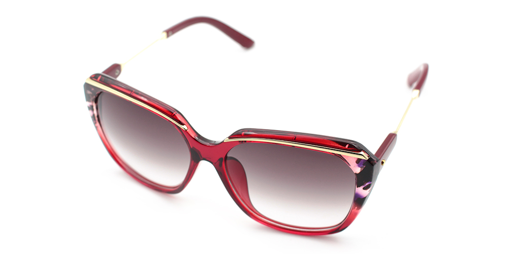 Layla Rx Sunglasses Red - Women Prescription Sunglasses