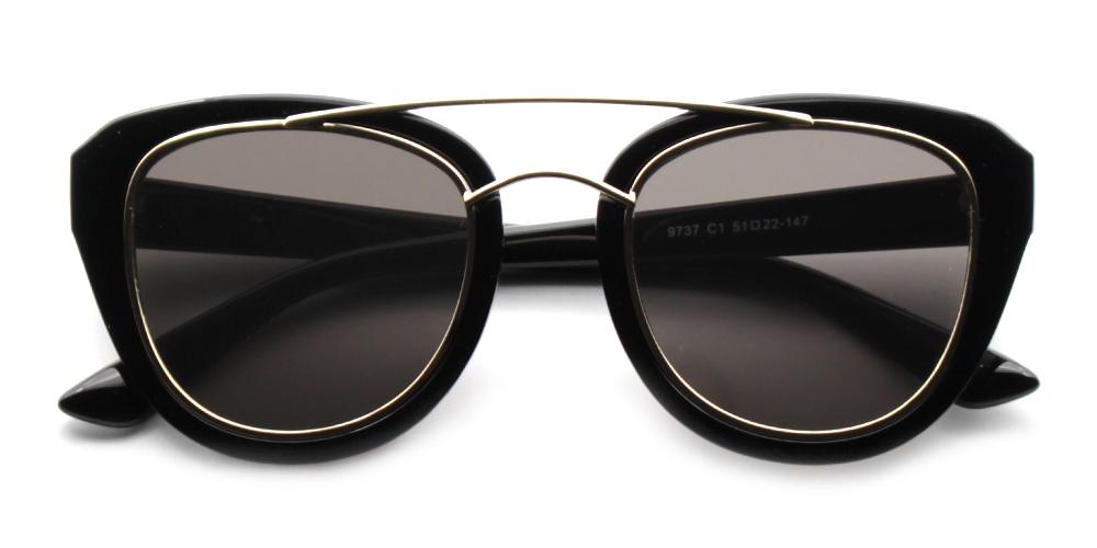 Zoe Rx Sunglasses Black