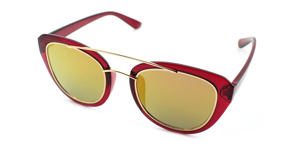 Zoe Rx Sunglasses Red