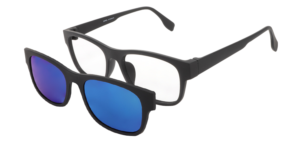 Oliver Clip-On Rx Sunglasses - Men's Sunglasses