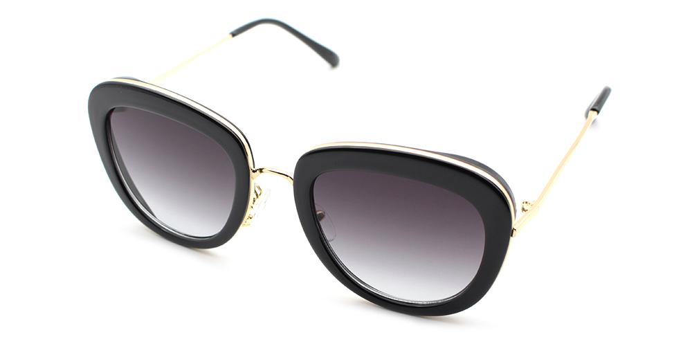 Emily Rx Sunglasses Black - Women Prescription Sunglasses